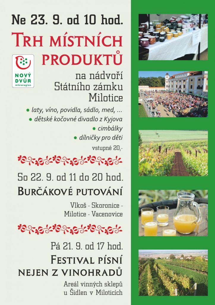 Trh místních produktů - Milotice 1