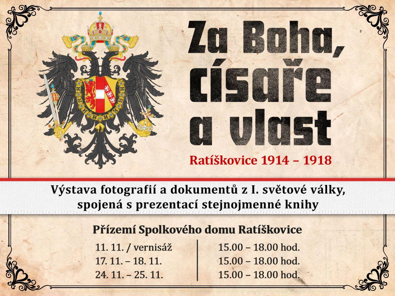 Za Boha, císaře a vlast (Ratíškovice 1914-1918) 1