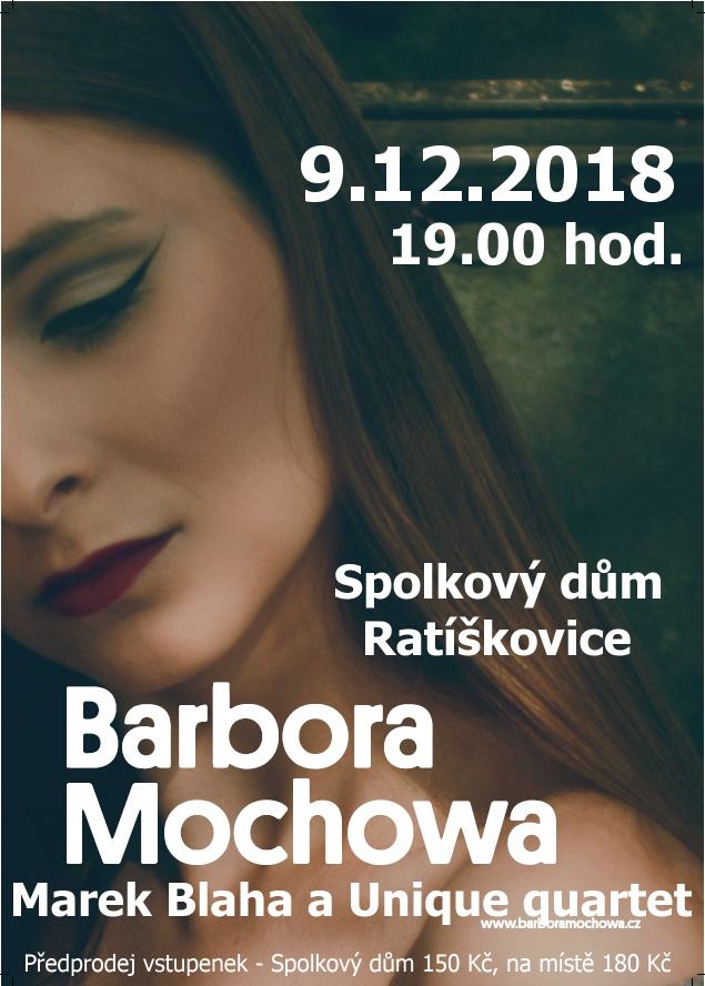 Barbora Mochowa a Marek Blaha & Unique quartet 1
