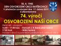 74. výročí osvobození naší obce 1