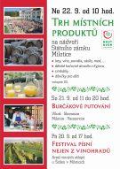 17. Trh místních produktů - Milotice 1