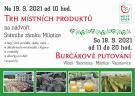 Burčákové putování a Trh místních produktů Milotice 1