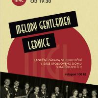 Taneční zábava se skupinou Melody Gentlemen 1