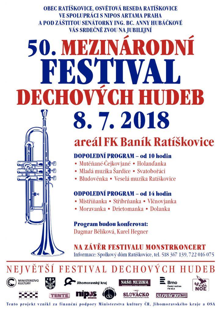 50. Mezinárodní festival dechových hudeb Ratíškovice 1